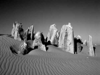 Pinnacles in Western Australia